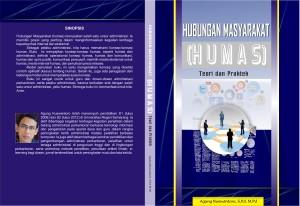 Cover Buku Hubungan Masyarakat (Humas): Teroi Dan Praktek Agung Kuswantoro