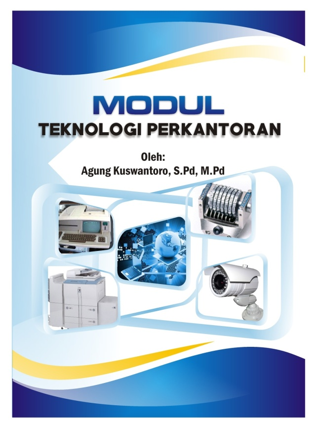 cover modul teknolgi perkantoran